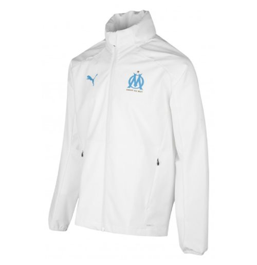 2019-2020 Marseille Rain Jacket (White)