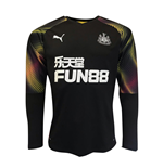 2019-2020 Newcastle Away Goalkeeper Shirt (Black)