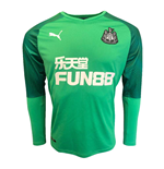 2019-2020 Newcastle Home Goalkeeper Shirt Green (Kids)