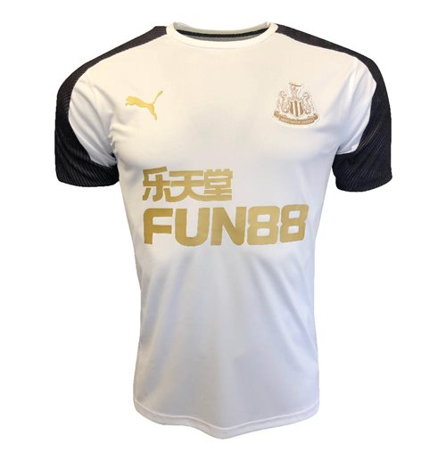 2019-2020 Newcastle Puma Training Shirt (White)
