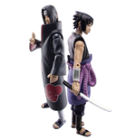 Naruto Shippuden Action Figure Set Sasuke vs. Itachi 2018 SDCC Exclusive 10 cm