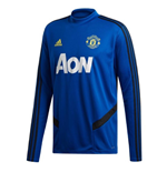 2019-2020 Man Utd Adidas Training Top (Blue)