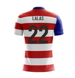 2018-19 USA Airo Concept Home Shirt (Lalas 22)
