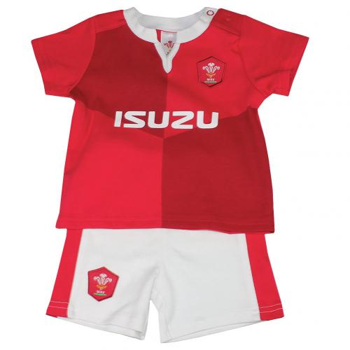 Wales R.U. Shirt & Short Set 6/9 mths QT