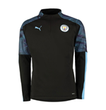 2019-2020 Manchester City Puma Training Fleece (Black)