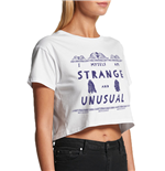 Beetlejuice - St And Unusual - Unisex Crop Top White