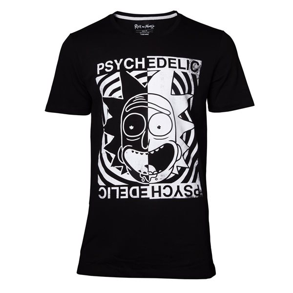 Rick and Morty - Psychedelic Men's T-shirt
