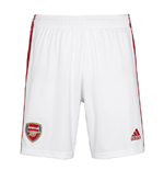 2019-2020 Arsenal Adidas Home Shorts White (Kids)