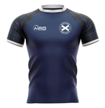 2019-2020 Scotland Home Concept Rugby Shirt