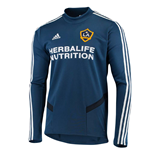 2019-2020 LA Galaxy Adidas Training Top (Navy)