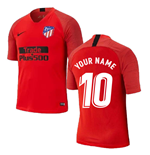2019-2020 Atletico Madrid Nike Training Shirt (Red) (Your Name)