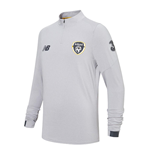 2019-2020 Ireland On Pitch Midlayer Top (Grey)