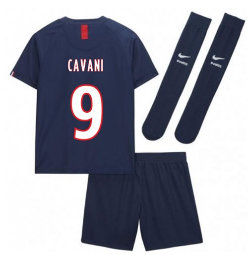 2019-2020 PSG Home Nike Little Boys Mini Kit (CAVANI 9)