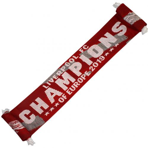 Liverpool F.C. Champions Of Europe Scarf  RG