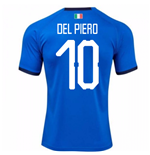2018-19 Italy Home Shirt (Del Piero 10) - Kids