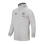 2019-2020 Celtic Travel Full Zip Hoody (Grey Marl)