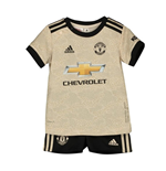 2019-2020 Man Utd Adidas Away Baby Kit