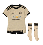2019-2020 Man Utd Adidas Away Little Boys Mini Kit