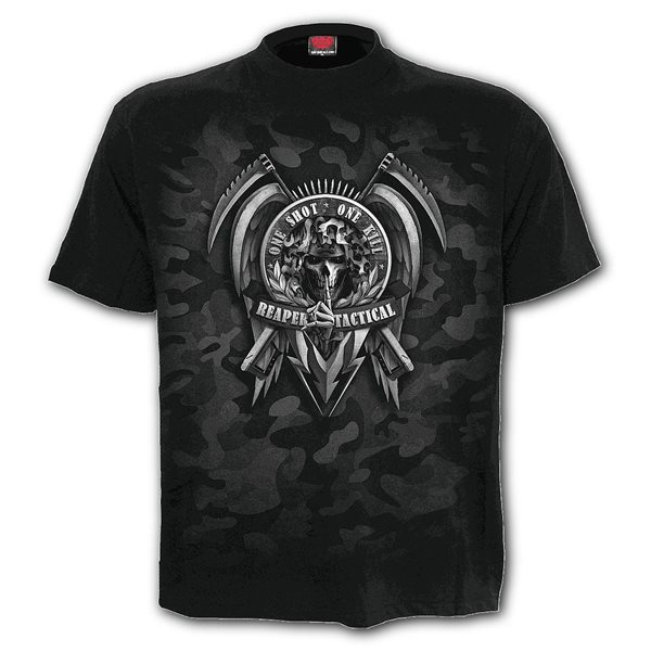 Tactical Reaper - T-Shirt Black