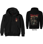 Slipknot Unisex Pullover Hoodie: Burn Me Away (Back Print)