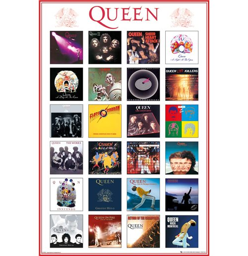 Queen - Covers Maxi Poster (61X91,5 Cm)