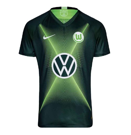 2019-2020 VFL Wolfsburg Home Nike Shirt (Kids)