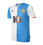 2019-2020 Blackburn Rovers Umbro Home Football Shirt
