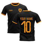 2019-2020 Wolverhampton Away Concept Football Shirt (Your Name)