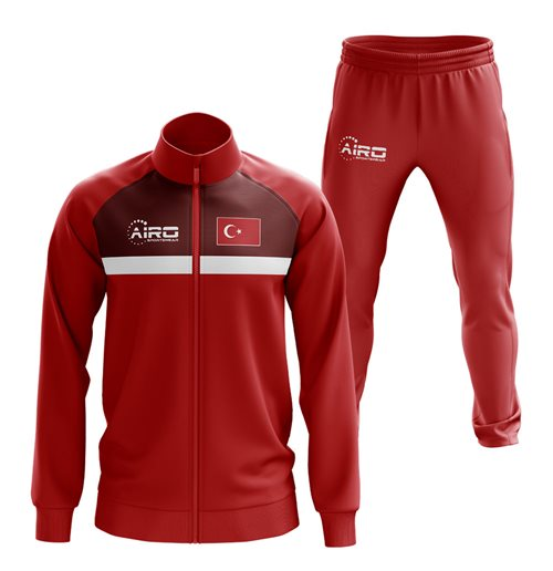 Turkey Concept Football Tracksuit (Red)