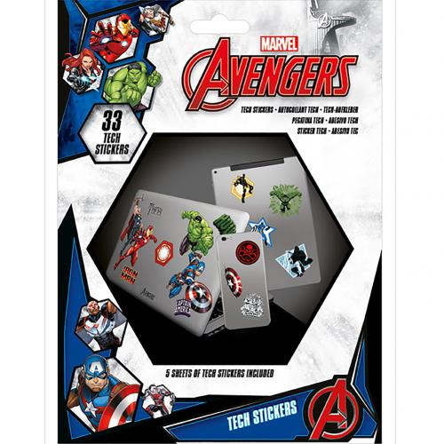 Avengers Tech Stickers