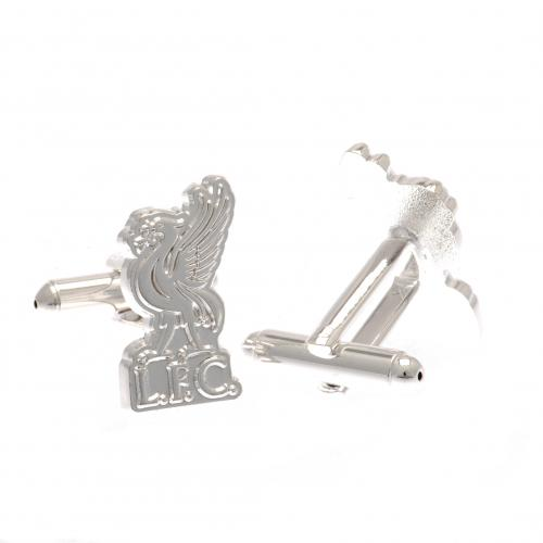 Liverpool F.C. Silver Plated Formed Cufflinks LB