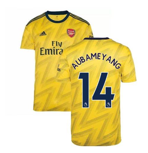 uk availability f501a 6c9ab 2019-2020 Arsenal Adidas Away Football Shirt (AUBAMEYANG 14)