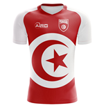 2018-2019 Tunisia Flag Concept Football Shirt