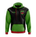 Malawi Concept Country Football Hoody (Black)