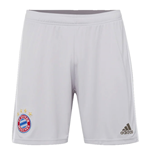 2019-2020 Bayern Munich Adidas Away Shorts (Grey)