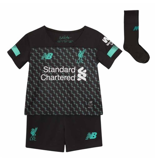 2019-2020 Liverpool Third Little Boys Mini Kit