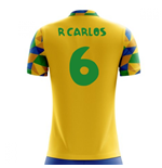 2018-2019 Brazil Home Concept Football Shirt (R Carlos 6) - Kids
