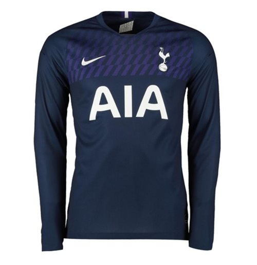 2019-2020 Tottenham Away Long Sleeve Nike Shirt