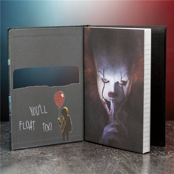 Stephen Kings It 2017 Notebook 3D Lenticular Pennywise