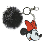 Disney Acrylic Keychain Minnie Mouse Face