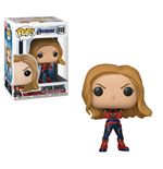 Avengers Endgame POP! Movies Vinyl Figure Captain Marvel 9 cm