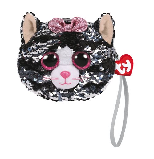 Ty T95220 - Kiki - Sequin Plush Toy Coin Purse