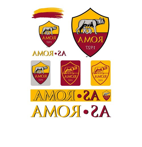 AS Roma Sticker 355285