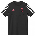 2019-2020 Juventus Adidas Training Tee (Black)