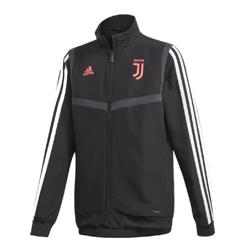 2019-2020 Juventus Adidas Presentation Jacket (Black) - Kids