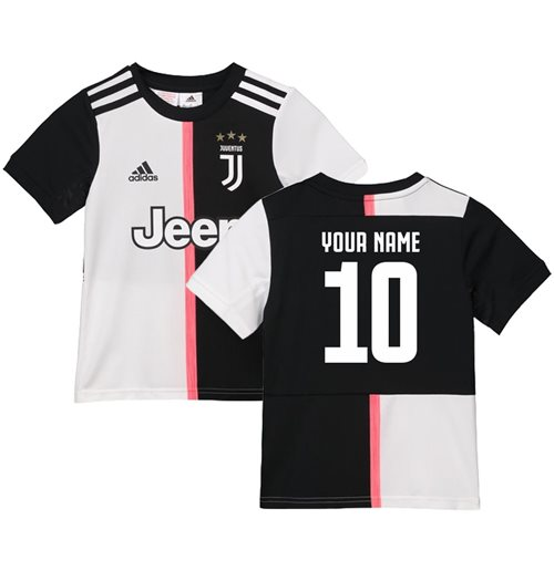 2019-2020 Juventus Adidas Home Shirt (Kids) (Your Name)