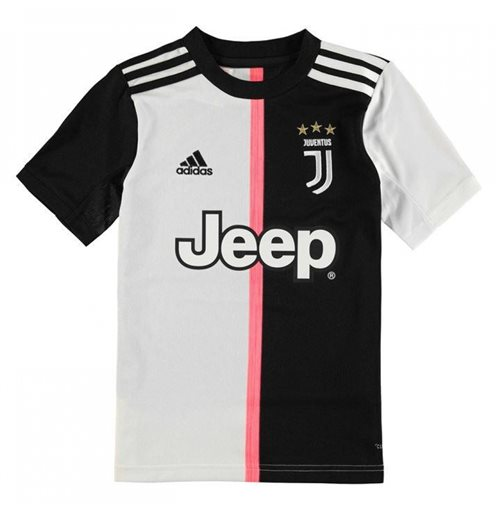 2019-2020 Juventus Adidas Home Shirt (Kids)