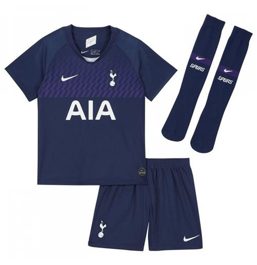 2019-2020 Tottenham Away Nike Little Boys Mini Kit