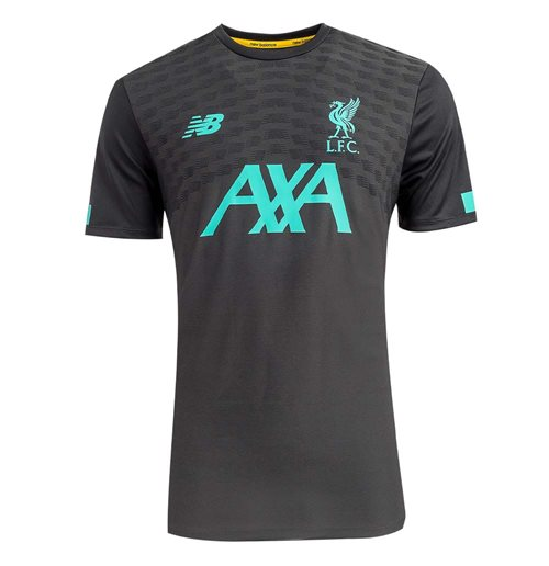 2019-2020 Liverpool Pre Game Jersey (Phantom)