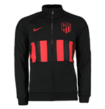 2019-2020 Atletico Madrid Nike I96 Jacket (Black)